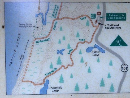 รีดสปอร์ต, ออริกอน: die Routenbeschreibung