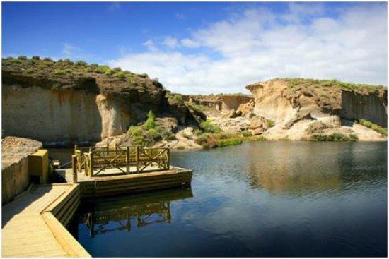 Сан-Мигель-де-Абона, Испания: Presa / Dam