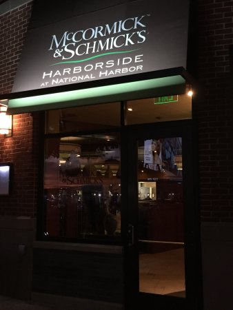Mccormick Schmick S Seafood Steaks Entrance To Restaurant Located Right At The Harbor