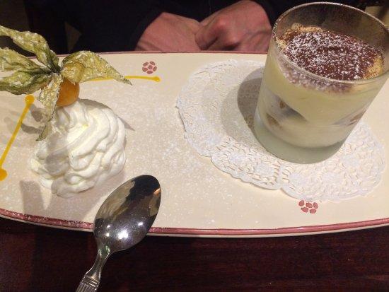 Livange, Lussemburgo: Dessert