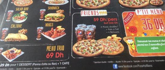 Pizza Hut - Agdal, Rabat - Restaurant Avis, Numéro de Téléphone ... 8ed862172292