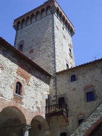 Leccio, Italien: Interno: particolare della torre