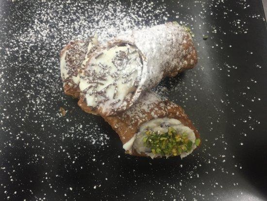 San Donato in Poggio, Italien: Cannoli preparati dal nostro chef