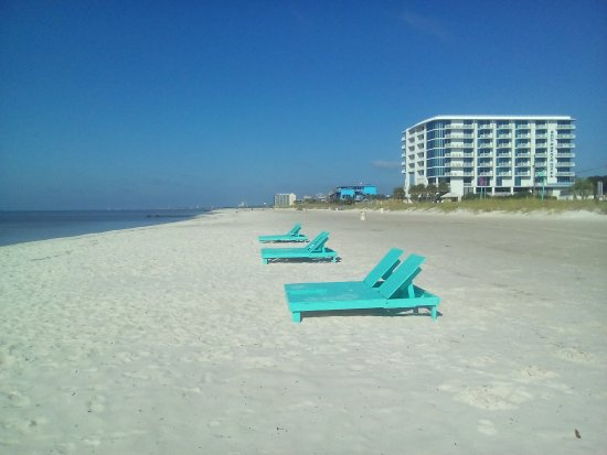 Star Inn - Biloxi: Strand beim Motel
