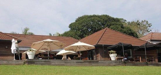 Kloof, جنوب أفريقيا: The main building on the garden side