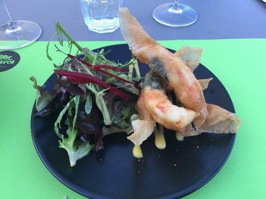 Blagnac, Francia: King prawns