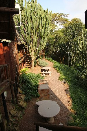 Hillcrest, Zuid-Afrika: Braai area for unit 3 and 2