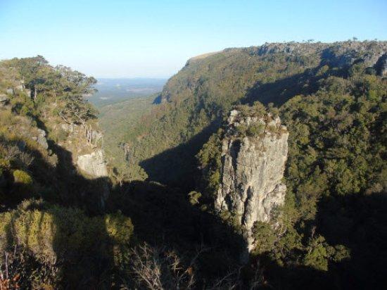 Graskop, Sydafrika: The Pinnacle Rock