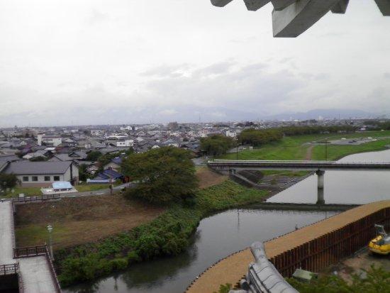 Ogaki, Japón: 展望室からの眺め