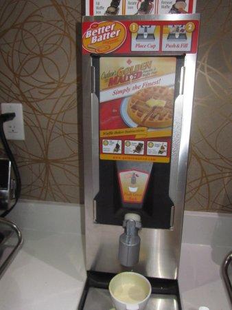 super 8 by wyndham toronto east on waffles machine