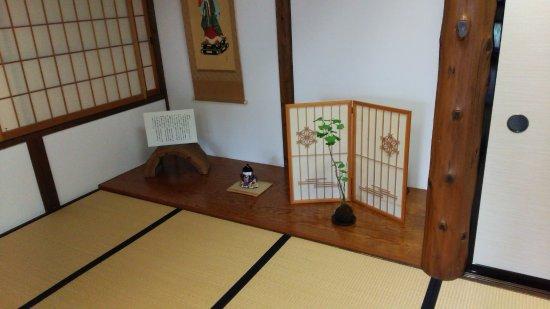 Hida no Takumi Bunka Museum: 2階床の間の展示