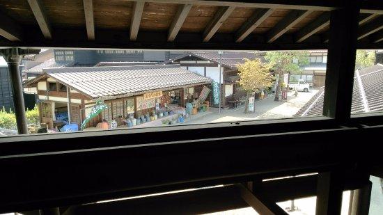 Hida no Takumi Bunka Museum: 渡り廊下から