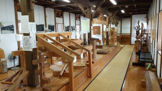 Hida, Giappone: 匠の技術展示