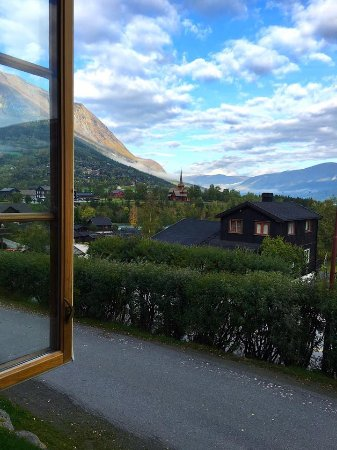 Lom, Norvège : From the dining room