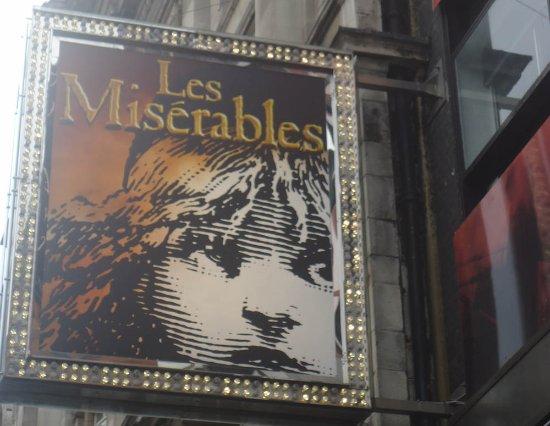 Shaftesbury Avenue : Les Miserables