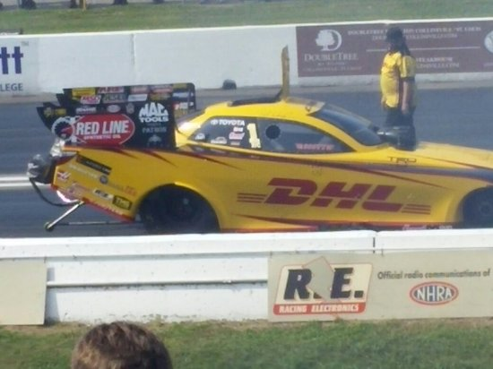 Madison, IL: Great time at the Drag Strip