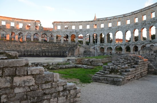 Amfitheater van Pula: The Arena in Pula
