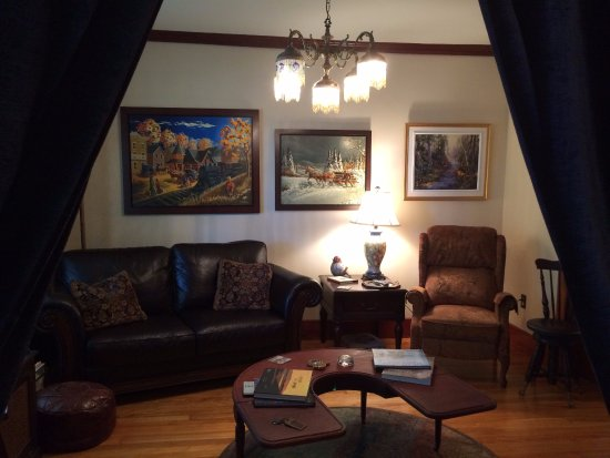 Danville, แคนาดา: Sitting Room