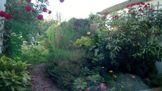 Eure, Frankrike: giardino interno