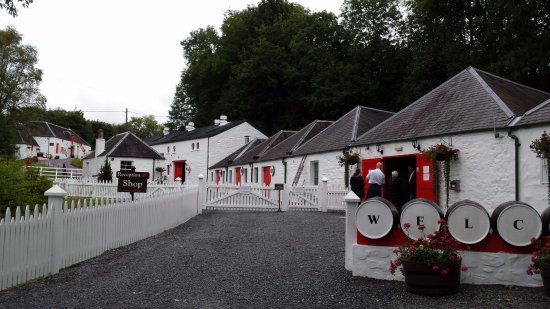 Pitlochry, UK: View of main buildings