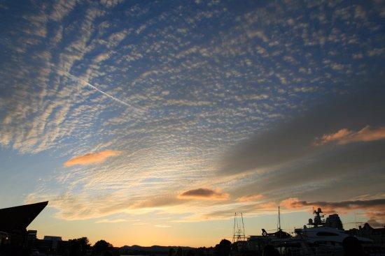 Heriot Bay, Canada: Amazing sky