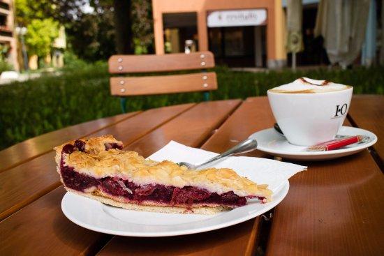 Garching bei Munchen, Alemania: Florentiner Kirschkuchen