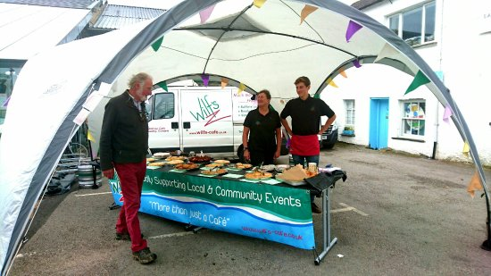 Staveley, UK: Apple day at wilfs fab turn out well done guys lots of lovely apple cake creations too x