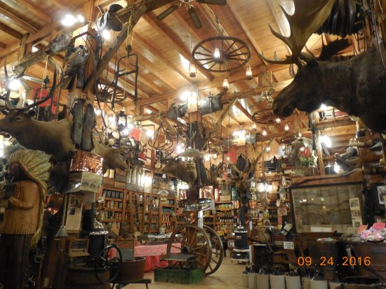 Elkhorn, WI: Inside the Western Museum, many displays!