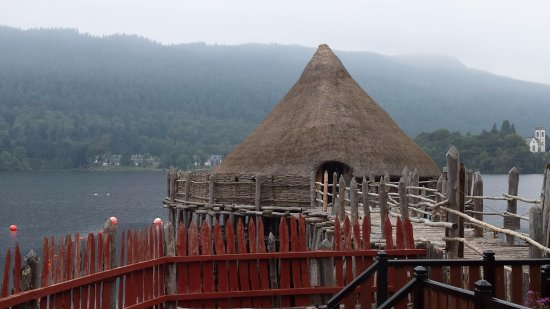 Kenmore, UK: View of the Crannog