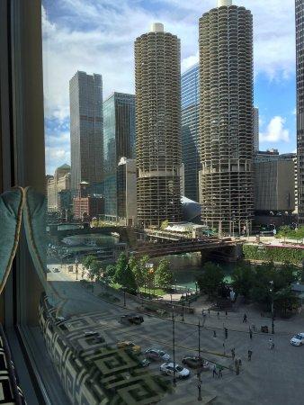 Kimpton Hotel Monaco Chicago: Zimmerblick Zimmer Nr. 812