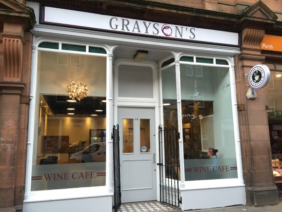 Perth and Kinross, UK: Grayson's Wine Cafe
