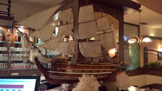 Velke Losiny, جمهورية التشيك: Maketa lodi v restauraci