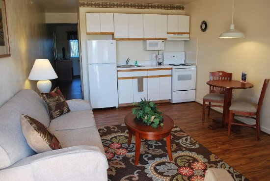 Kannapolis, Carolina del Norte: Standard Suite/ Living Room - Kitchen
