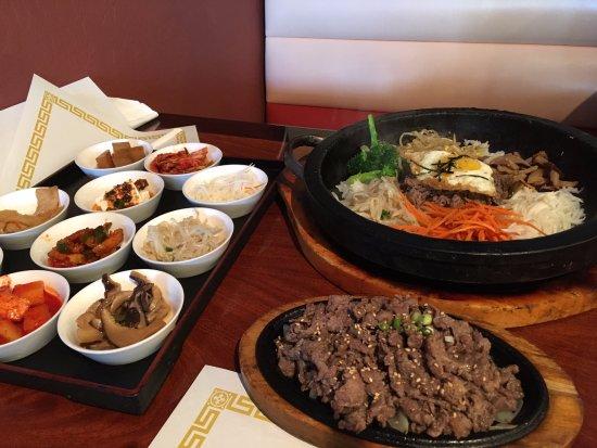 Pleasanton, Kalifornia: Bulgogi Beef & Fried Rice
