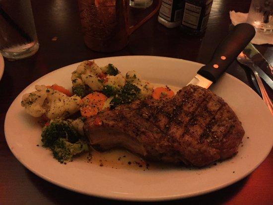 Cedar Rapids, IA: Iowa Cut Pork Chop dinner.