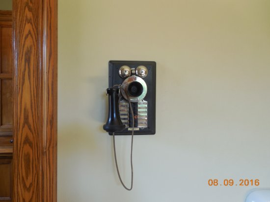 Wausau, WI: In 1907, they put in a high tech impressive intercom system for their help.