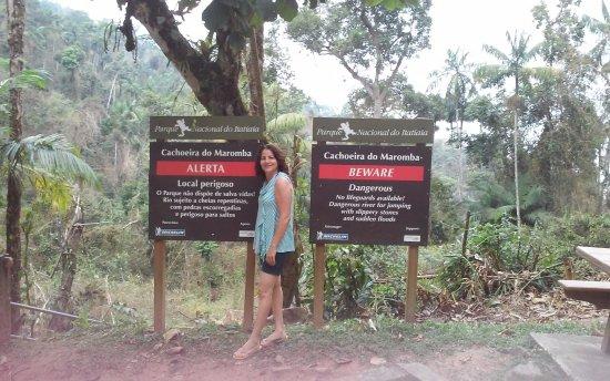 Itatiaia, RJ: Entrada da cachoeira da Maromba