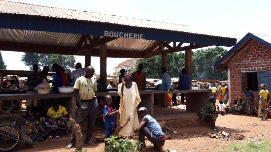Ouham Prefecture, جمهورية إفريقيا الوسطى: Bouca marked on sunday
