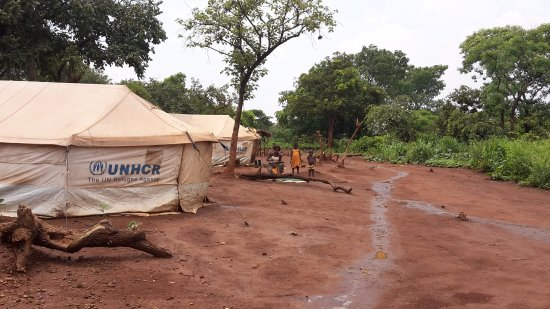 Ouaka Prefecture, Central African Republic: IDP camp Ouaka