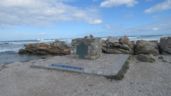 Cape Agulhas, Güney Afrika: Most southern tip of Africa