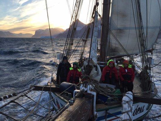 Husavik, Islandia: From Scoresbysund fjord