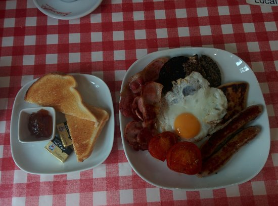 Strathyre, UK: Full scottish breakfast