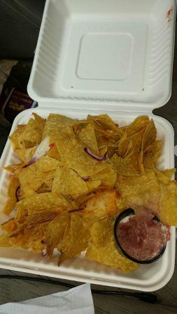 Lakefield, Kanada: Unlabeled no cheese nachos