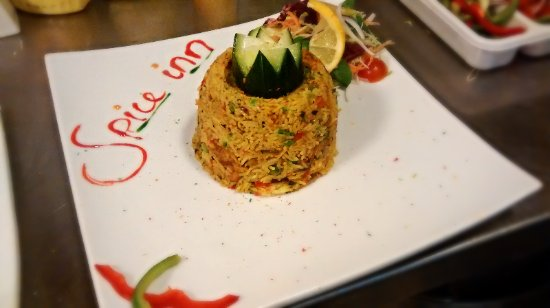 Rainhill, UK: A Picture of the 'Biryani' dish from our Restaurant 'THE SPICE INN'. We Also do the same Biryani
