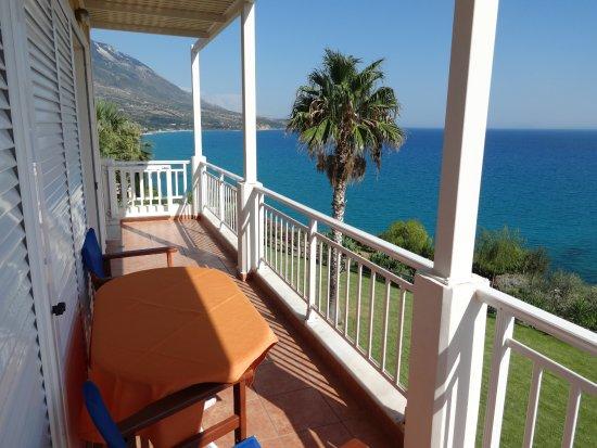 Τραπεζάκι, Ελλάδα: Balcony of Room 15