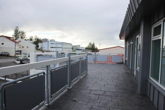 Kopavogur, Islandia: Front terrace