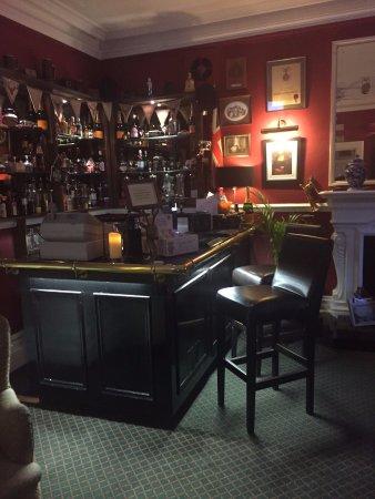 Sale, UK: The bar area