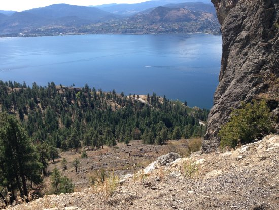 "Okanagan Falls, Канада: View from the ""little tunnel"", about 15 km out of Penticton"