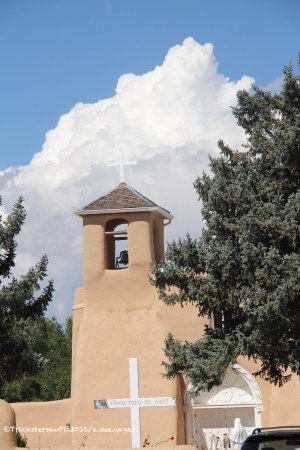 Ranchos De Taos, NM: Bell tower