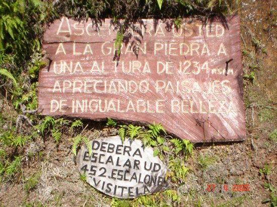 La Gran Piedra (The Big Rock): Vistas